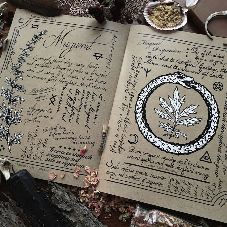 The Hedge Witch's Herbal Grimoire, second edition. Written