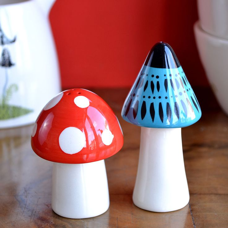 Brand new Toadstool Salt and Pepper shakers, just £17.99 on the website. visit www.hannahturner.co.uk