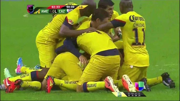 Gol de Moisés Muñoz / Final América vs Cruz Azul 2013.... This was amazing!! We champions :-)