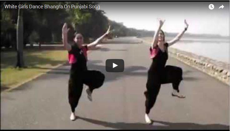 White Girls Dance Bhangra On Punjabi Song