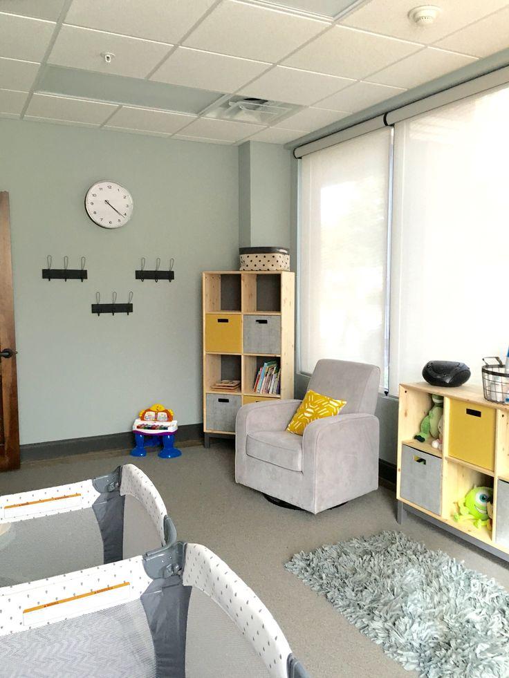 Church Nursery Decor. www.thefunkydebutante.com #thefunkydebutante #interiordecorating #churchdecor