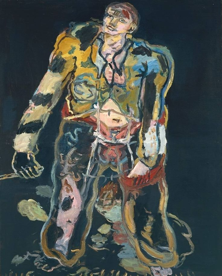 georg baselitz paintings | Georg Baselitz, 'Rebel' 1965