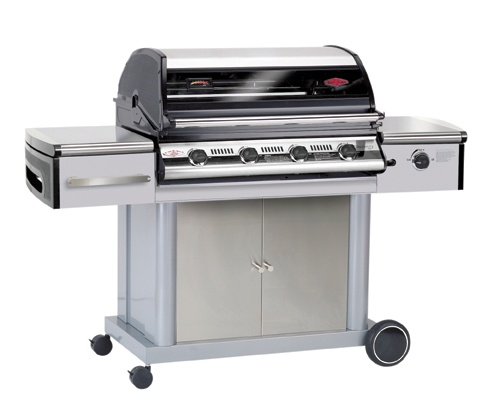 Beefeater Discovery 500i - 4 Burner     2009 Version now with part Stainless Steel Hood - with Cast Aluminium sides for reinforcement. As pictured.    Australia's Leading BBQ Brand brings you the latest version of the iconic Discovery 500i Series of BBQs.