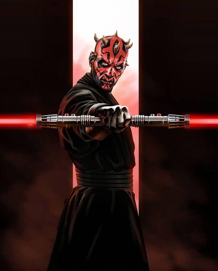 Darth Maul the Sith apprentice . . Sofy  #starwars #darthmaul #darkside #sithlord #sith #doublehandedlightsaber #redlightsaber #thephantommenace #force