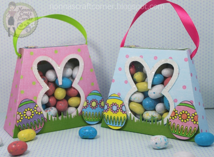 163 best treat boxesbags easter images on pinterest easter treat bags are from the silhouette online store 3d bunny purse box negle Gallery