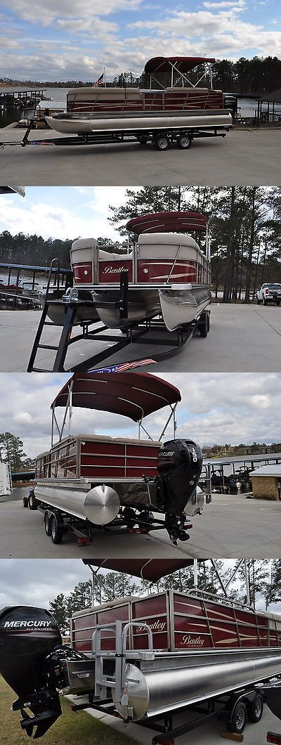 boats: 2016 Bentley Cruise 243 Tritoon Pontoon Boat 150 Hp Mercury 4 Stroke BUY IT NOW ONLY: $30990.0