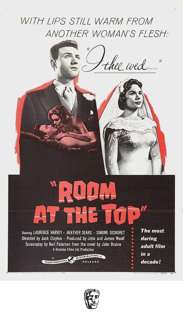 Un Lugar En La Cumbre Almas En Subasta Room At The Top 1959 Reino Unido Dirección Jack Clayton Carteles De Cine Carteles De Películas Criticas De Cine
