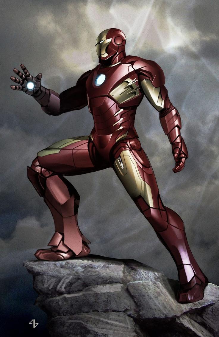 Марвел картинки железный человек