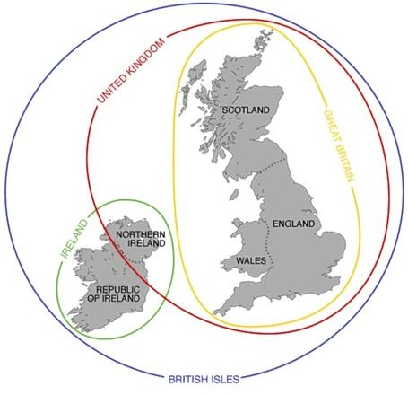 England, Britain and the UK | AP Human Geography Education | Scoop.it