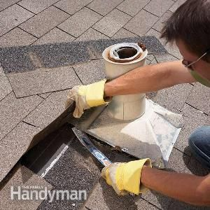 Roof Flashing: Replace Plumbing Vent Flashing | The Family Handyman