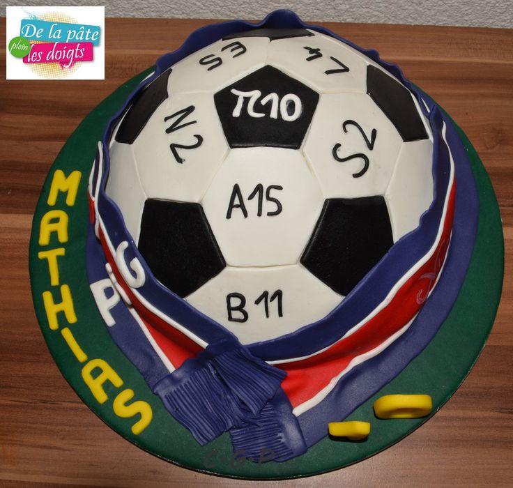 Gâteaux ballon de foot