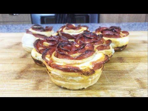 Make these Pepperoni Pizza Roses for your bae on Valentine's Day. Recipe by Josh Elkin (@TheJoshElkin) www.foodbeast.com www.facebook.com/foodbeast www.twitt...