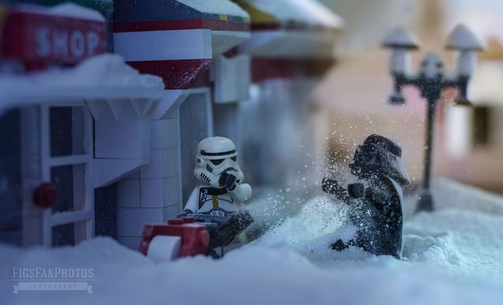 Merry Force Be With You! I Couldn't Wait To The Premiere So I Created Xmas Themed Lego Star Wars Photos | Bored Panda