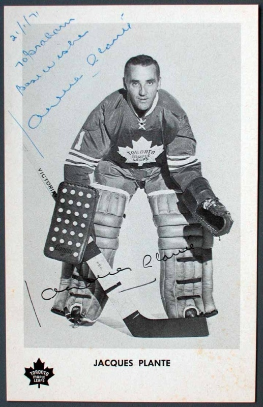 Jacques Plante ~ Toronto