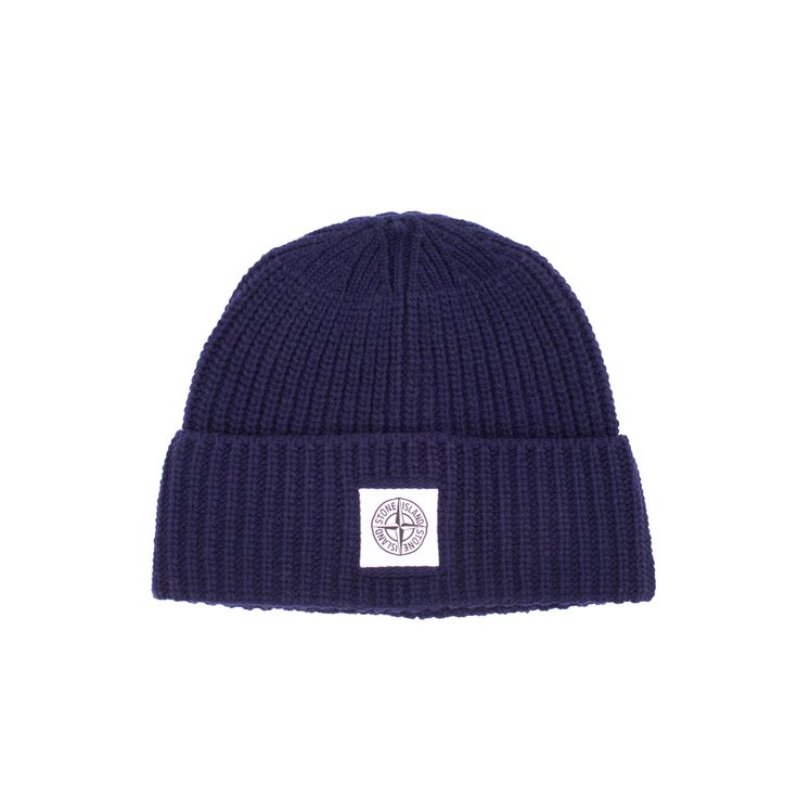 Beautifully crafted and highly essential new Stone Island Logo Patch Beanie.