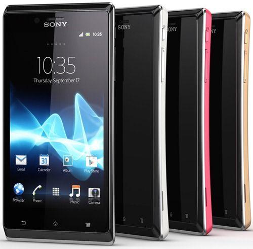 Gadgets: Llega el nuevo Xperia J de Sony Mobile #MWC13