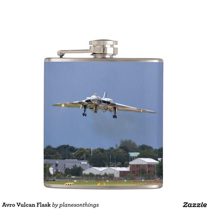 Avro Vulcan Flask