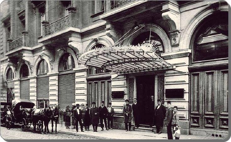 Pera Palace - 1920's Istanbul - Turkey