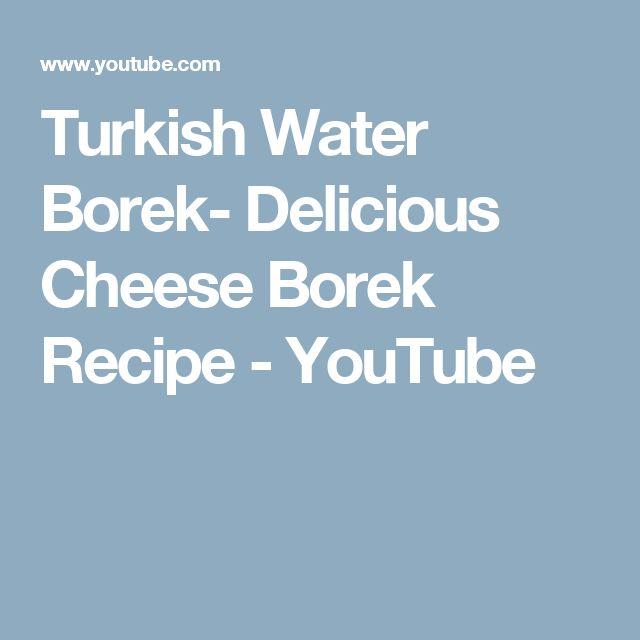 Turkish Water Borek- Delicious Cheese Borek Recipe - YouTube