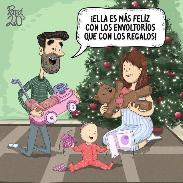 Navidad y regalos para ni os padres ser padre vas a - Regalos padres navidad ...