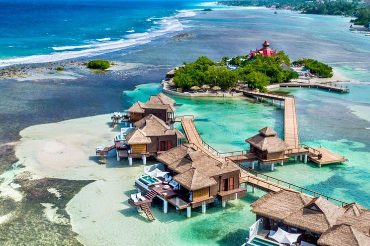 Sipping a cocktail on the deck of an overwater chalet isn't exclusive to the French Polynesian. While the South Pacific and islands off the coast of India are known as the ultimate spot for relaxing in a bungalow perched over teal waters, there are overwater villas that are closer to home t