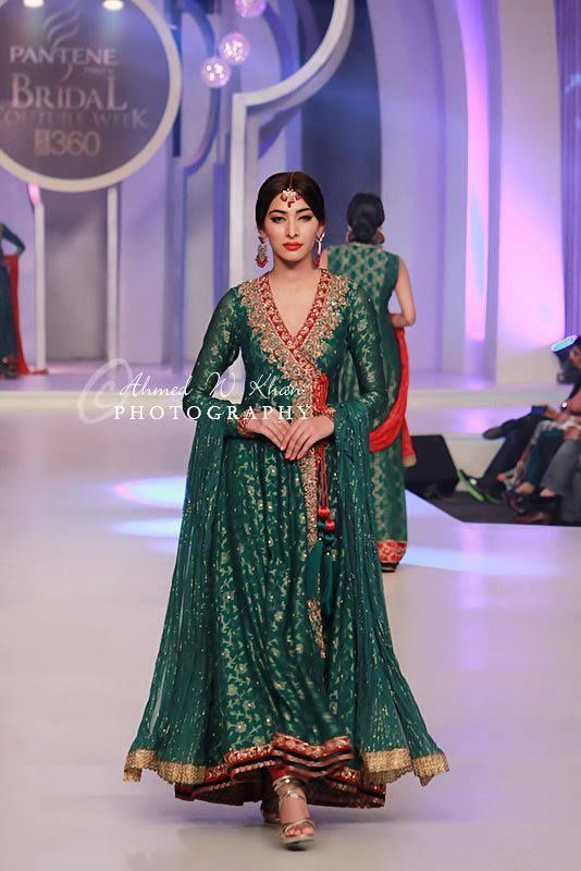 I love this Zaheer Abbas piece!! Stunning angrakha style gown.