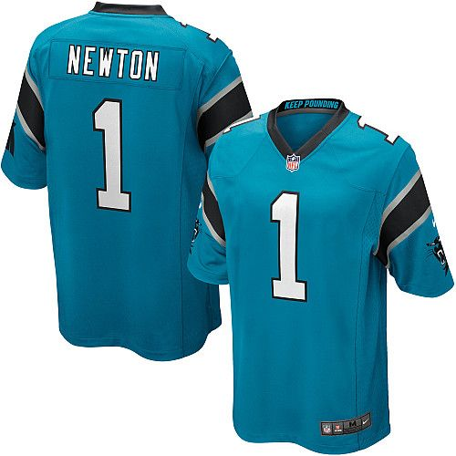 Youth Nike Carolina Panthers Cam Newton Game Alternate Jersey (S-XL) - NFLShop.com   CONNOR