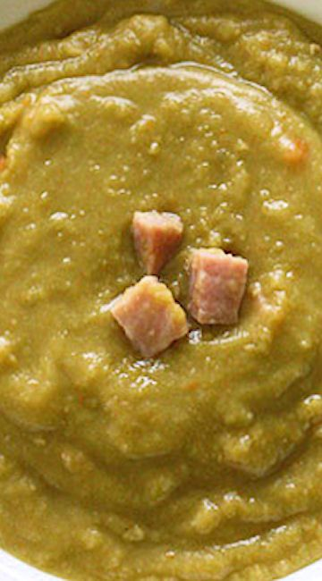 ... Pea Soup With Ham on Pinterest | Soup With Ham, Split Peas and Pea
