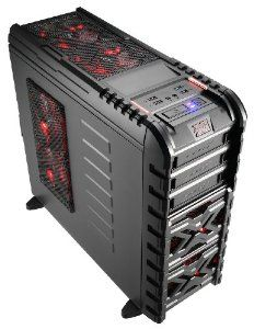 Aerocool Strike-X GT Toolless Mid Tower Gaming Case with Red LED Fans by Aerocool - Computer Mods UK