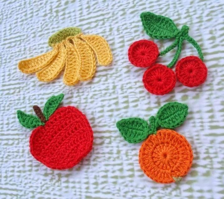 tığ işi meyve yapımı - Google'da Ara