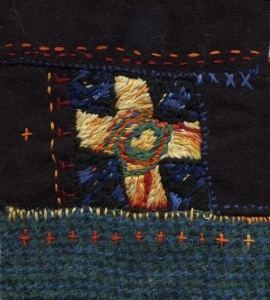 By Kiira Kirsijóna.  (Inspired by Sue Dove's wonderful book, Painting with Stitches)