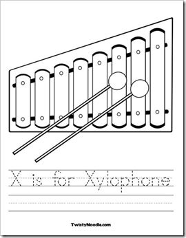 11 best Letter X Worksheets images on Pinterest Alphabet