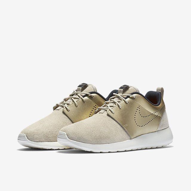 Nike Roshe One Grau Gold