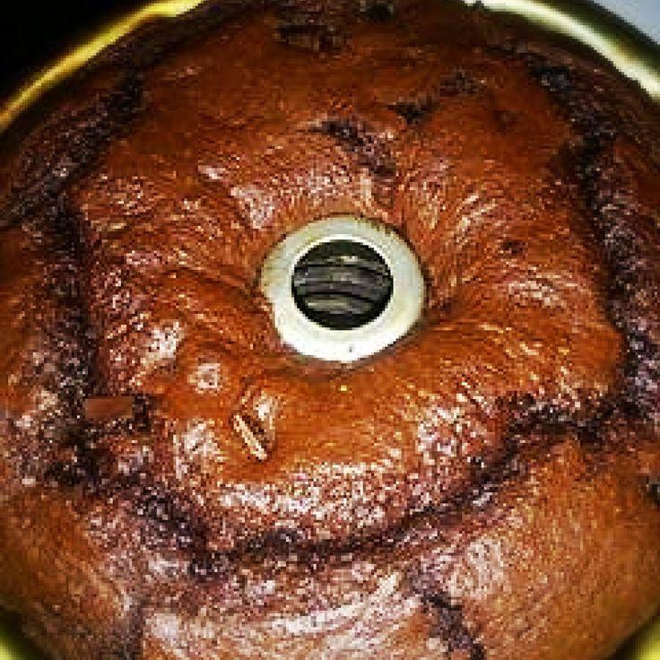 Moist chocolate, chocolate pound cake