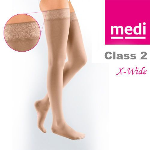 Mediven Elegance® DT290X Thigh Length Compression Stockings With Topband Size 1 in Health & Beauty, Mobility, Disability & Medical, Orthopaedics & Supports | eBay!