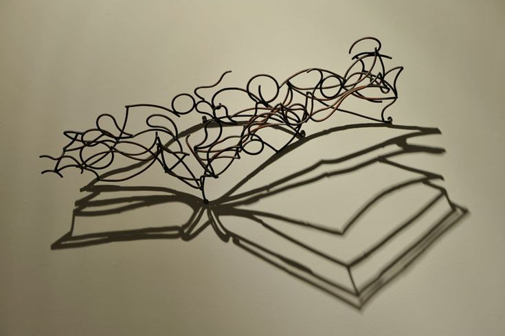 Larry Kagan steel and shadow sculptures