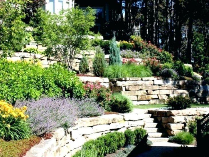 Top 15 Adorable Landscaping On A Slope Backyard On Your Budget Sloped Backyard Landscaping Sloped Backyard Sloped Garden
