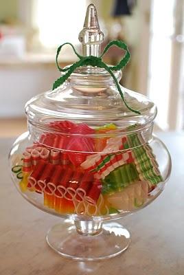 Cool way to display Ribbon Candy