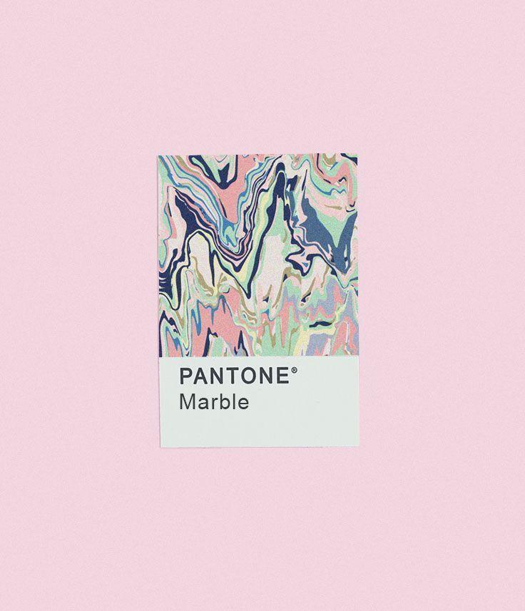 """""""Marble"""" Pantone"""