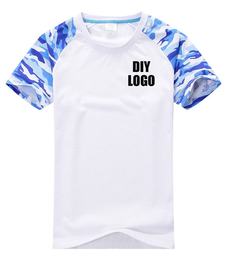 Create own logo on t shirt paint t-shirt battle camouflage raglan ...