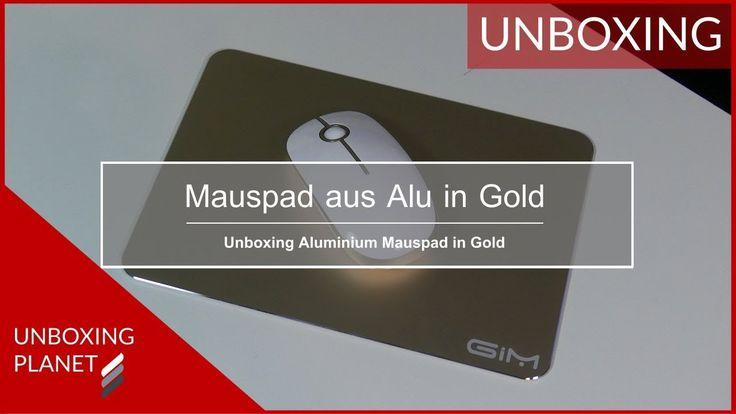 Video mit Unboxing des Alu Mauspad in Gold von G-i-Mall #unboxing #alumauspad #gold #mauspad #gimall