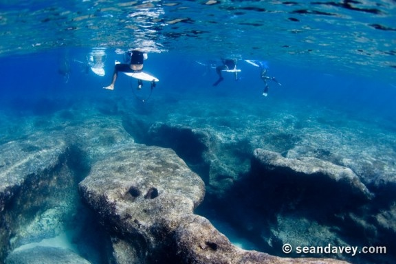 The Reef Under Pipeline In Hawaii This Is A View Of The