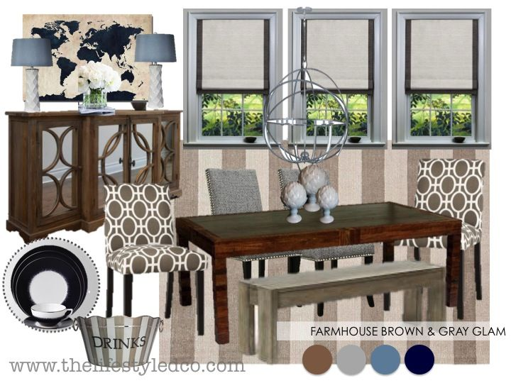 Warm And Cozy Dining Room Moodboard: 36 Best Dining Room Mood Boards Images On Pinterest