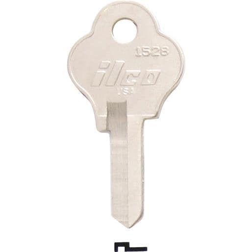 Ilco Corp. 1528 Emco Storm (Blue) Door Key 1528 Unit: BAG