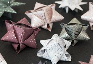 DIY – paper stars
