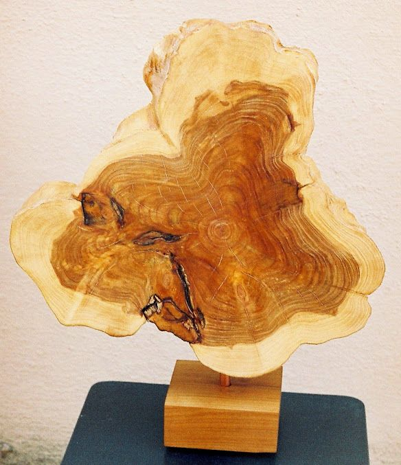 Art Gross.Art Brut, section yew with cherry base. https://www.facebook.com/jichici.mircea https://www.facebook.com/pages/Mircea-Jichici-painting/284399895040599 http://www.youtube.com/user/MrJichici