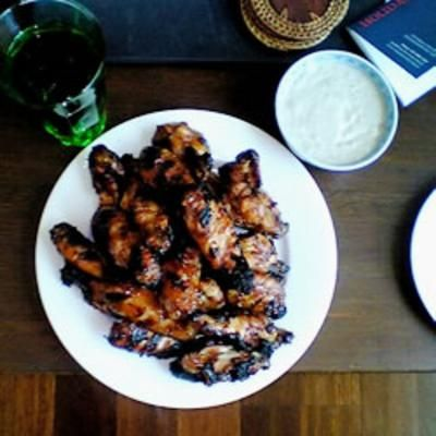 Craig's Mystic Wings: Barbecue Sauce, Wing Recipes, Craig S Mystic, Food, Craigs Mystic, Mysticwings, Chicken Wings