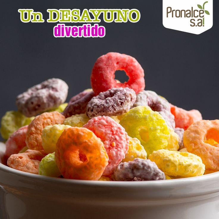 Con #Cereales #Zucky Loops Aros Afrutados la hora del desayuno es uno de los momentos más divertidos del día. Con todos esos colores y sabor, ¡los chicos se los quieren comer todos! #Pronalce #DelSur #Chocotom #cereal #breakfast #desayuno #avena #integral #salud #saludable #feliz #love #hojuelas #maiz #lonchera #snack #granola #frutosrojos #banano #deleitar #alimentos #granos