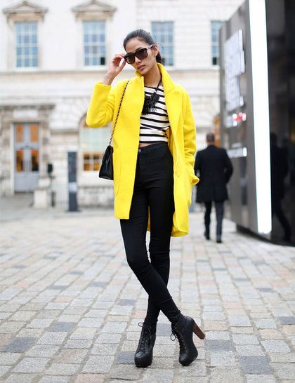 Thuy Hoang:: Coat and Top Zara, Necklace and Trousers Topshop, Glasses Alexander McQueen,Bag Chanel
