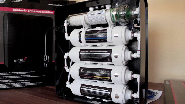 ★★★★★ Aquafilter Excito-B beépíthető víztisztító bemutatása VIZTISZTITOM...